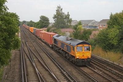 66730 Worting Junction 31/07/20 4O69 Hams Hall to Southampton Western Docks