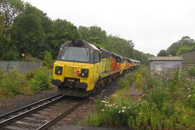 70809 Micheldever 27/07/20 0Y69 Hoo Junction to Eastleigh