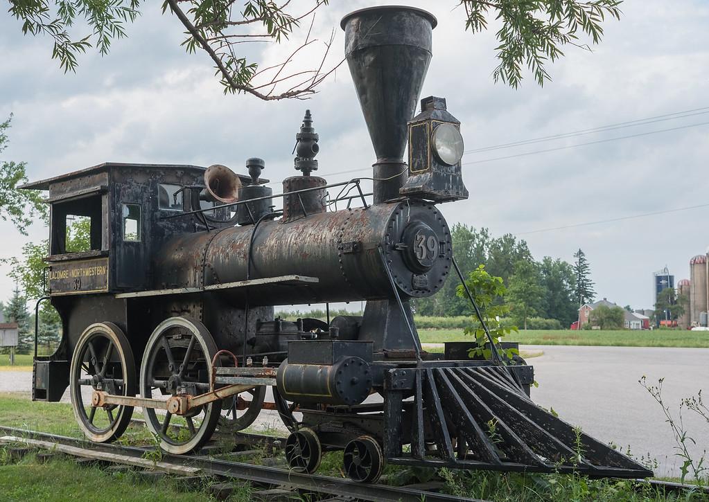 Железная дорога, паровоз