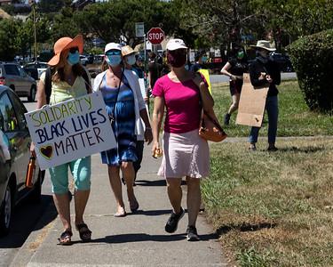 Black Lives Matter-Marin City 21 (Terry Scussel)