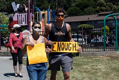 Black Lives Matter-Marin City 16 (Terry Scussel)