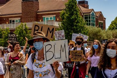 Drum Led Silent March Santa Rosa   Bill Clark-32
