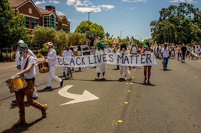 Drum Led Silent March Santa Rosa   Bill Clark-26