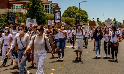 Drum Led Silent March Santa Rosa   Bill Clark-30