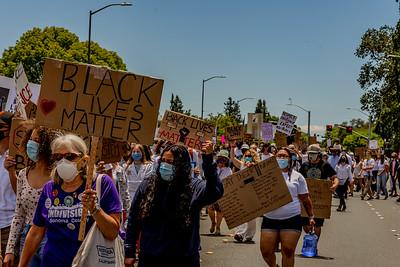 Drum Led Silent March Santa Rosa   Bill Clark-35