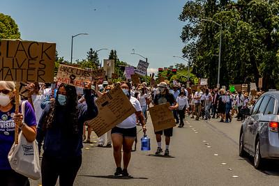 Drum Led Silent March Santa Rosa   Bill Clark-34