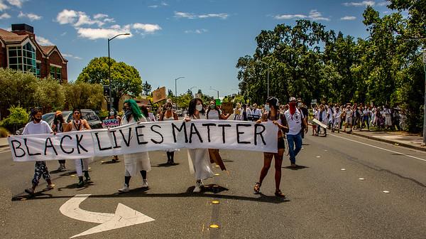 Drum Led Silent March Santa Rosa   Bill Clark-27
