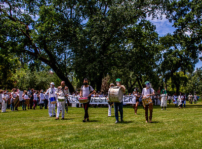 Drum Led Silent March Santa Rosa   Bill Clark-25