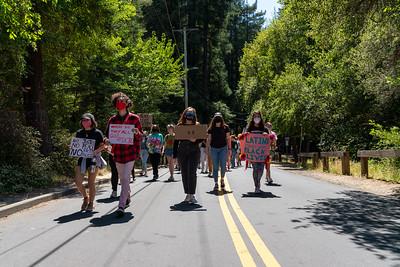Mill Valley BLM March - June 25 - Steve Disenhof-7910