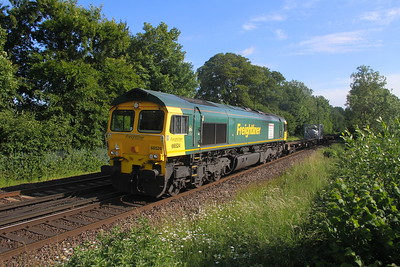 66524 Micheldever 15/06/20 4M99 Southampton to Crewe Basford Hall
