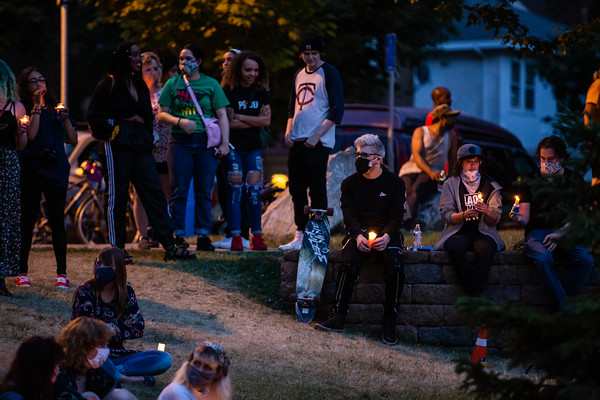 Juneteenth George Floyd Vigil