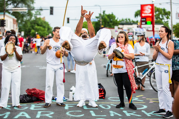 Juneteenth at George Floyd Square