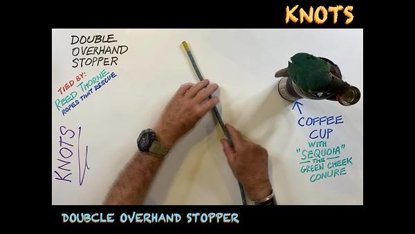 Double Overhand Stopper Kknot