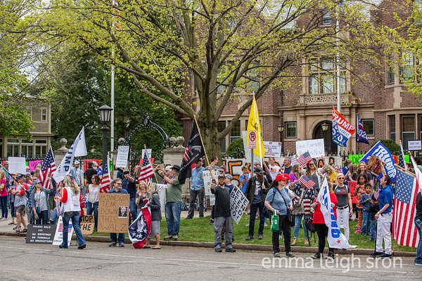 Liberate Minnesota Rally at Governor Walz's Residence