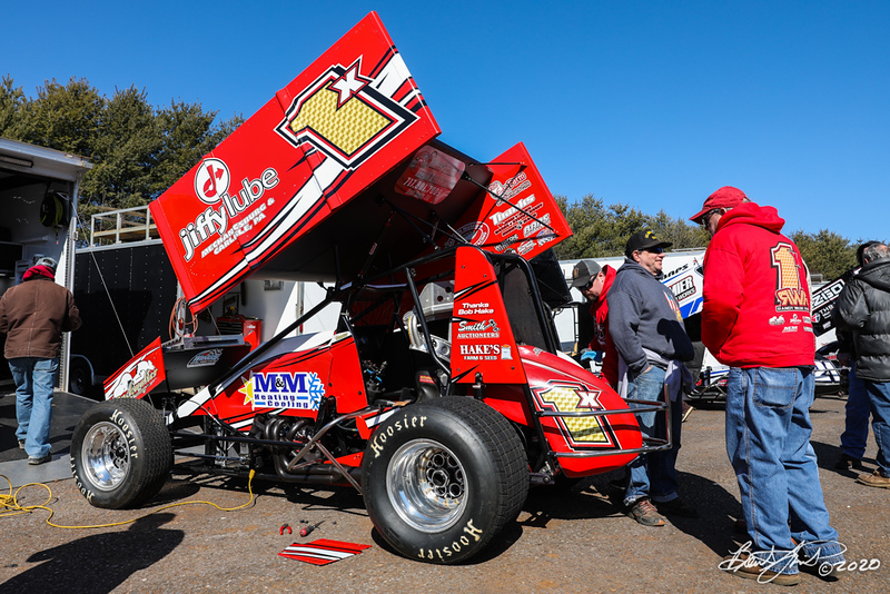 Icebreaker 30 - Lincoln Speedway - 1X Chad Trout