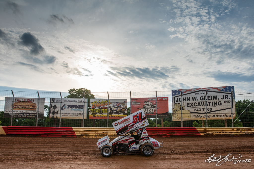 Kevin Gobrecht Memorial - 2020 Pennsylvania Sprint Car Speed Week presented by Red Robin - Lincoln Speedway - 51 Freddie Rahmer Jr.