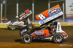 dirt track racing image - Drydene 40 - Lincoln Speedway - 19m Landon Myers, 8 Billy Dietrich