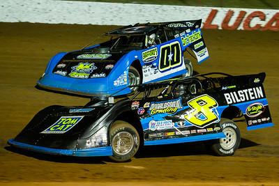 Kyle Strickler (8) and Jesse Stovall (00)