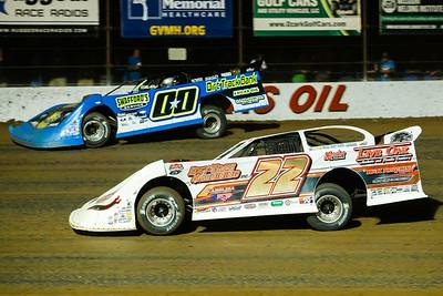 Chris Ferguson (22) and Jesse Stovall (00)