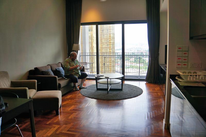 William in our Kuala Lumpur condo