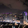 View of Kuala Lumpur from the rooftop deck of our condo