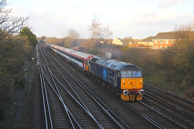 47813 Worting Junction 12/03/20 5Q86 Ely Papworth Siding to Eastleigh with 442412