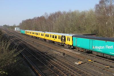 313121 Worting Junction 27/03/20 5Z23 Eastleigh to Hornsey EMU Depot