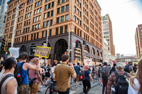 Media March, Minneapolis