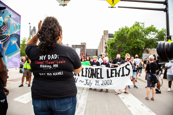 March For Lionel Lewis