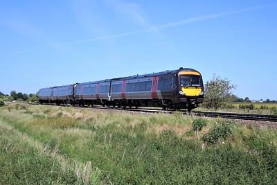 170520_170522 passing Wisbech Road crossing, Manea at 1149/1L34 Birmingham to Cambridge