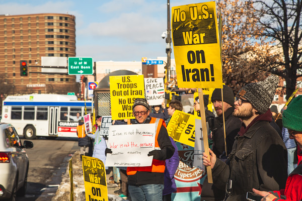No War on Iran, Minneapolis