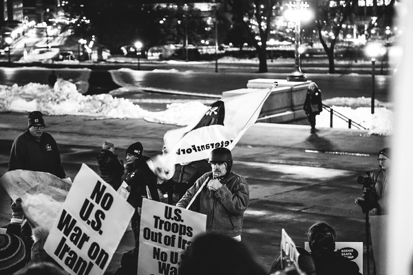 No War on Iran, Minnesota State Capitol