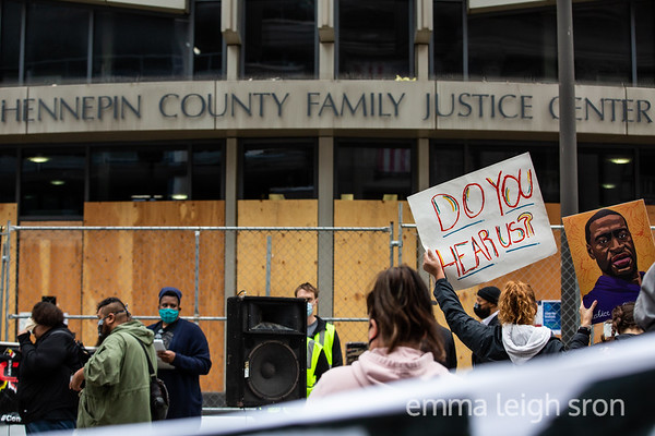 NO to Dismissing Charges of George Floyd's Killers, Minneapolis, September 11