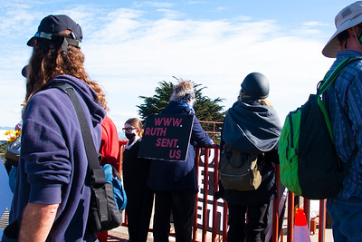 Vigil for Democracy - Golden Gate Bridge