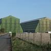 The Cardington airship hangars, 07.11.2020.