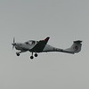L3 Commercial Aviation Diamond DA40 G-CTSE doing touch and go runs at Cranfield Airport, 11.11.2020.