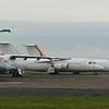 Stored Avro RJ aircraft at Cranfield Airport, including ex Formula 1 G-OFOA, ex Air Lybia SA-FLA, ex WDL Aviation D-AMGL, and ex USAir G-SMLA, 11.11.2020.
