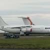 Withdrawn WDL Aviation (German Regional Airlines) Avro RJ BAE-146-200 D-AMGL at Cranfield Airport, 11.11.2020.