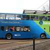 Stagecoach Busway liveried Scania ADL Enviro 400 YN15KHM 15215 at Cambridge bus station on route B to Huntingdon, 01.11.2020.