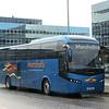 Marshalls Coaches Volvo Jonckheere SHV R25MAR at Milton Keynes Central on Hanslope Park shuttles, 03.11.2020.