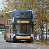 Stagecoach ADL Enviro 400 MMC YX67VDL 10874 in Cambourne on the 905 to Cambridge, 01.11.2020.