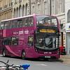 Stagecoach ADL Enviro 400 MMC SN66VZO 10791 in Cambridge on Madingley Road Park & Ride services, 01.11.2020.