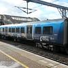 London Northwestern Railway BTP branded Class 350 Desiro no. 350235 at Leighton Buzzard on a Birmingham service, 03.11.2020.