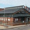 Wolverton's modern station building, 06.11.2020.