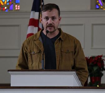 Veteran's Day Prayer Service in Dover Chapel in celebration of Veteran's Day.