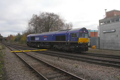 66791 Basingstoke 19/11/20 0O45 Kineton to Eastleigh
