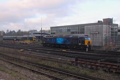57312 Basingstoke 23/11/20 0L50 Eastleigh to Ilford E.M.U.D.