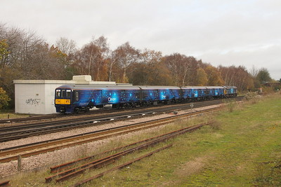 319373 Worting Junction 17/11/20 5Q71 Eastleigh to Wembley H.S.