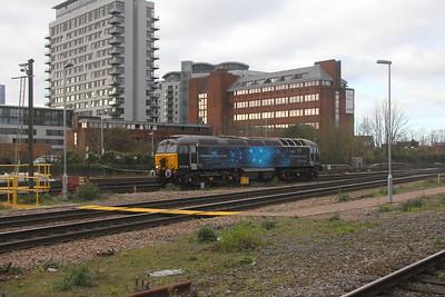 57312 Basingstoke 19/11/20 0H91 Eastleigh to Northampton EMD