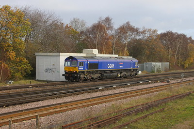 66791 Worting Junction 17/11/20 0M20 Eastleigh to Kineton